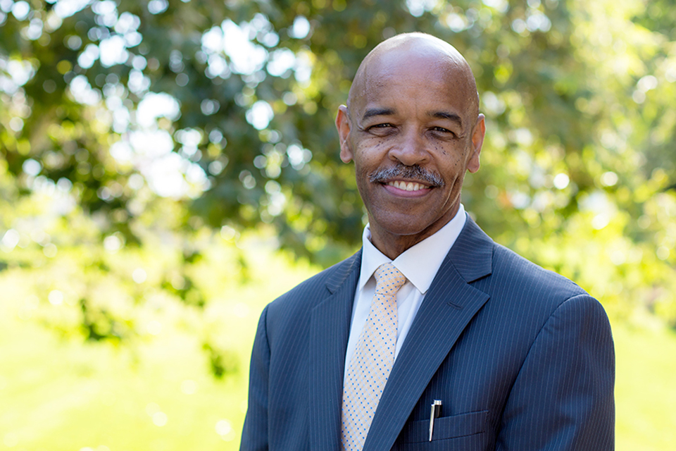 Interim Provost Joseph F. Johnson Jr.